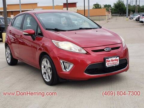 2012 Ford Fiesta for sale at DON HERRING MITSUBISHI in Irving TX