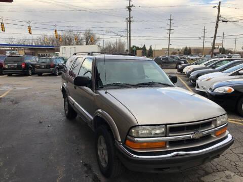 1999 Chevrolet Blazer for sale at Drive Max Auto Sales in Warren MI
