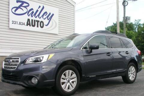2017 Subaru Outback for sale at Bailey Auto LLC in Bailey MI