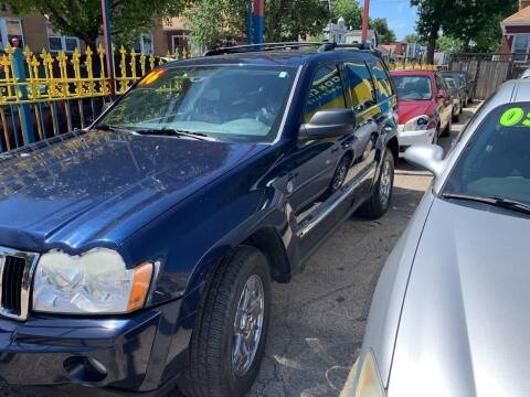 2006 Jeep Grand Cherokee for sale at HW Used Car Sales LTD in Chicago IL