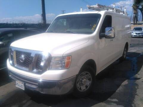 2012 Nissan NV Cargo for sale at Shamrock Group LLC #1 in Pleasant Grove UT