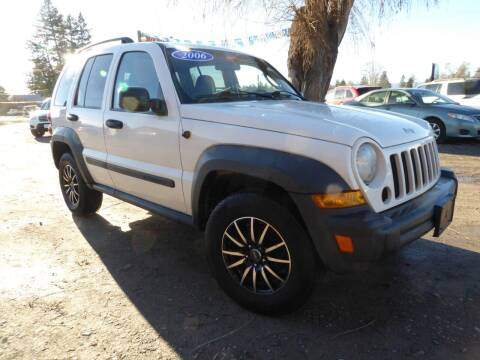 2006 Jeep Liberty for sale at VALLEY MOTORS in Kalispell MT