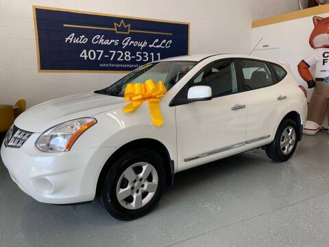 2012 Nissan Rogue for sale at Auto Chars Group LLC in Orlando FL