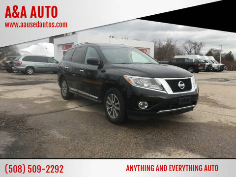 2013 Nissan Pathfinder for sale at A&A AUTO in Fairhaven MA