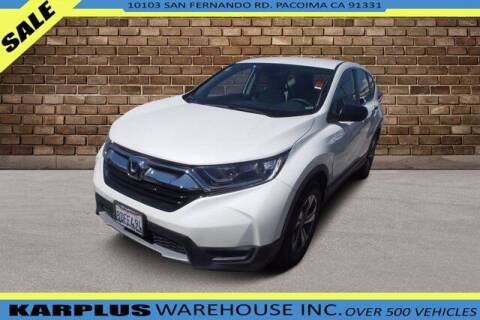 2018 Honda CR-V for sale at Karplus Warehouse in Pacoima CA