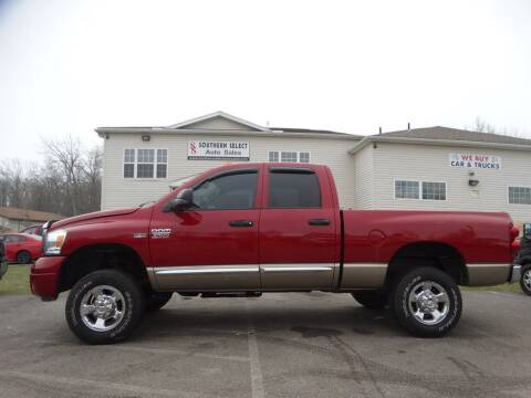 2008 Dodge Ram Pickup 2500 for sale at SOUTHERN SELECT AUTO SALES in Medina OH