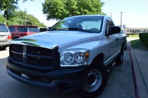 2008 Dodge Ram Pickup 1500 for sale at E-Auto Groups in Dallas TX