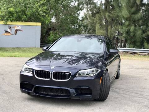 2014 BMW M5 for sale at Exclusive Impex Inc in Davie FL