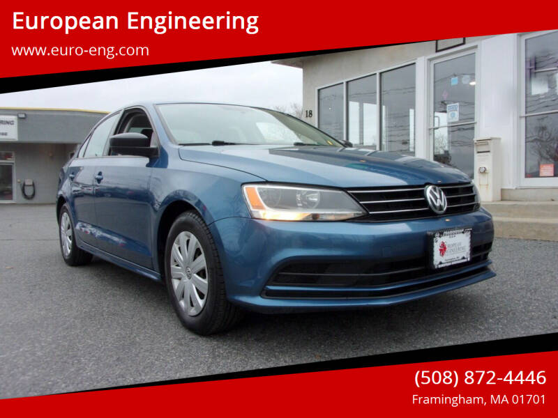 2015 Volkswagen Jetta for sale at European Engineering in Framingham MA