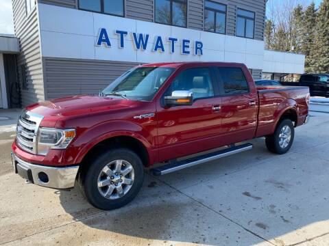 2014 Ford F-150 for sale at Atwater Ford Inc in Atwater MN