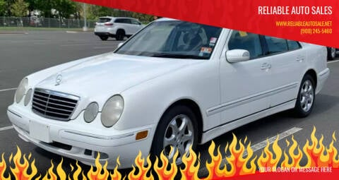 2002 Mercedes-Benz E-Class for sale at Reliable Auto Sales in Roselle NJ