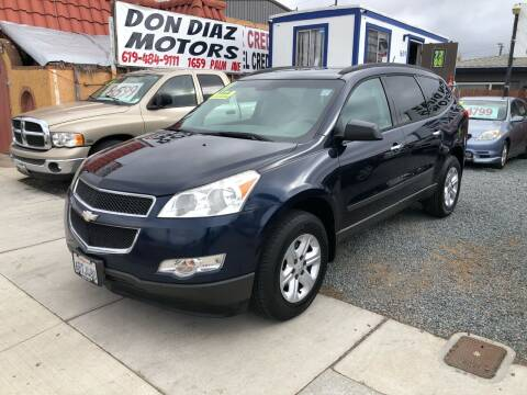 2011 Chevrolet Traverse for sale at DON DIAZ MOTORS in San Diego CA