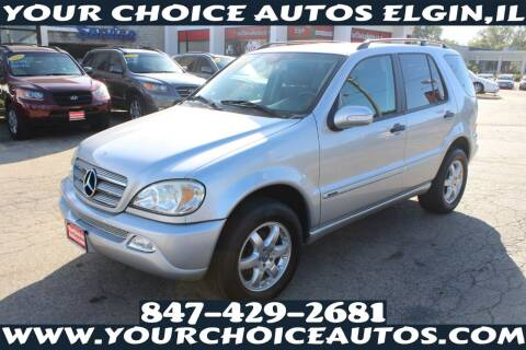 2003 Mercedes-Benz M-Class for sale at Your Choice Autos - Elgin in Elgin IL