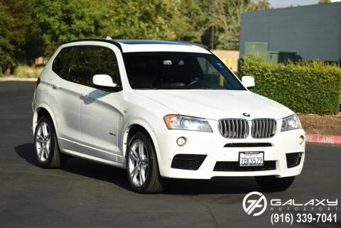 2014 BMW X3 for sale at Galaxy Autosport in Sacramento CA