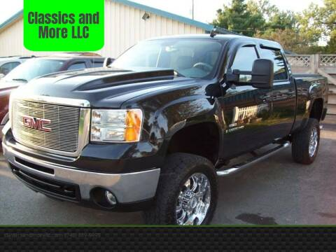 2009 GMC Sierra 2500HD for sale at Classics and More LLC in Roseville OH