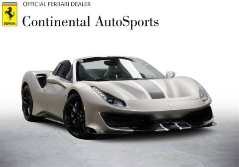 2020 Ferrari 488 Pista Spider for sale at CONTINENTAL AUTO SPORTS in Hinsdale IL