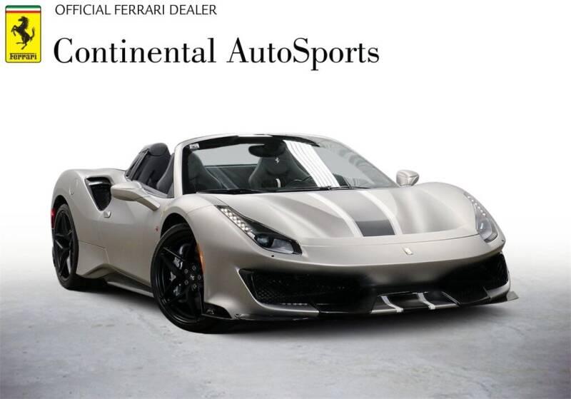 2020 Ferrari 488 Pista Spider for sale at CONTINENTAL AUTO SPORTS in Hinsdale IL