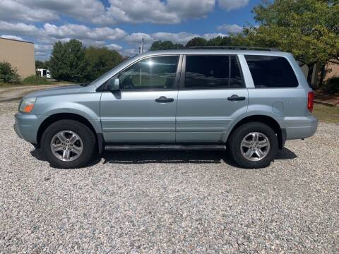 2003 Honda Pilot for sale at MEEK MOTORS in North Chesterfield VA