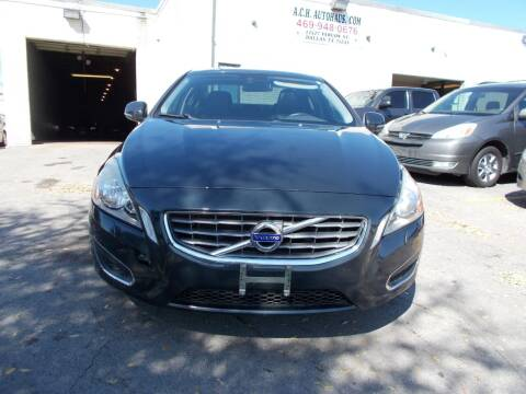 2013 Volvo S60 for sale at ACH AutoHaus in Dallas TX