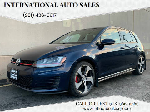 2015 Volkswagen Golf GTI for sale at International Auto Sales in Hasbrouck Heights NJ