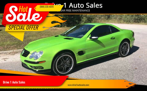 2005 Mercedes-Benz SL-Class for sale at Drive 1 Auto Sales in Wake Forest NC
