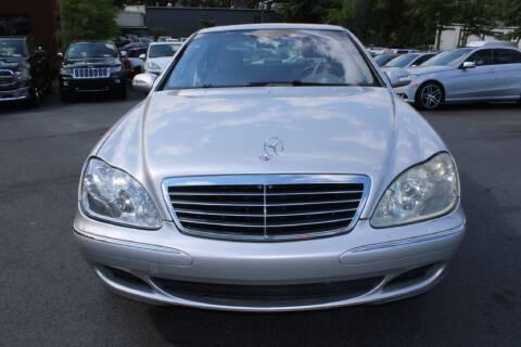 2003 Mercedes-Benz S-Class for sale at Atlanta Unique Auto Sales in Norcross GA