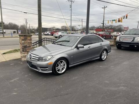 2010 Mercedes-Benz C-Class for sale at Auto Credit Group in Nashville TN