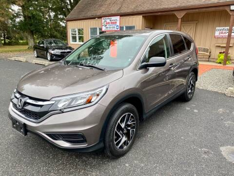 2016 Honda CR-V for sale at Suburban Wrench in Pennington NJ
