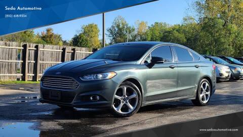 2015 Ford Fusion for sale at Sedo Automotive in Davison MI