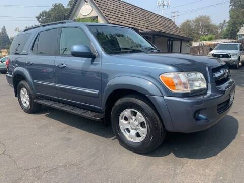 2005 Toyota Sequoia for sale at Three Bridges Auto Sales in Fair Oaks CA