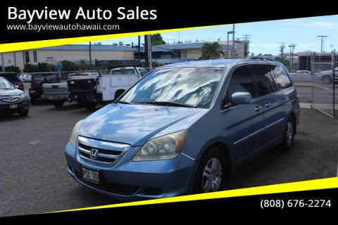 2007 Honda Odyssey for sale at Bayview Auto Sales in Waipahu HI