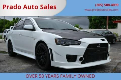2014 Mitsubishi Lancer for sale at Prado Auto Sales in Miami FL