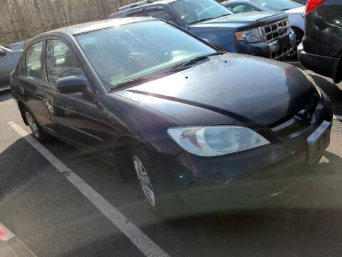 2005 Honda Civic for sale at Glory Auto Sales LTD in Reynoldsburg OH