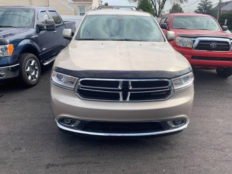 2014 Dodge Durango for sale at Park Avenue Auto Lot Inc in Linden NJ