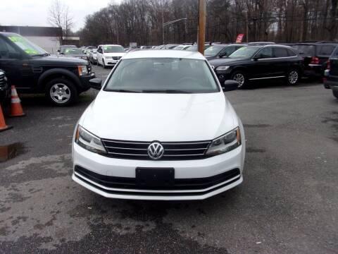 2015 Volkswagen Jetta for sale at Balic Autos Inc in Lanham MD