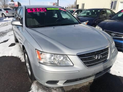 2010 Hyundai Sonata for sale at BELOW BOOK AUTO SALES in Idaho Falls ID
