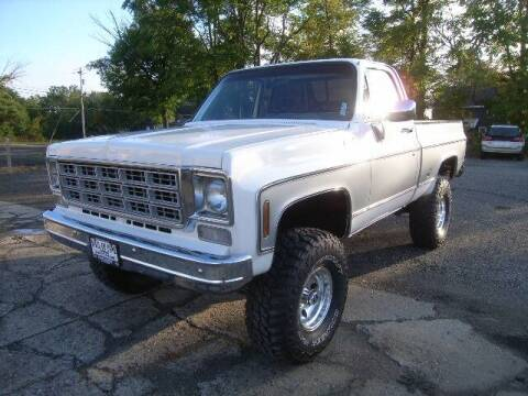 1978 Chevrolet C/K 10 Series for sale at HALL OF FAME MOTORS in Rittman OH