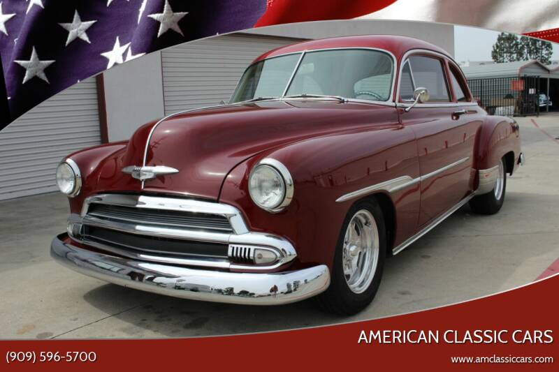 1951 Chevrolet Bel Air for sale at American Classic Cars in La Verne CA
