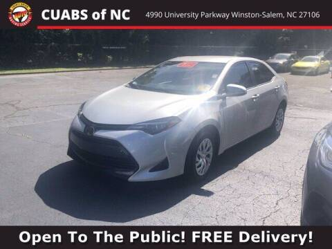 2018 Toyota Corolla for sale at Summit Credit Union Auto Buying Service in Winston Salem NC