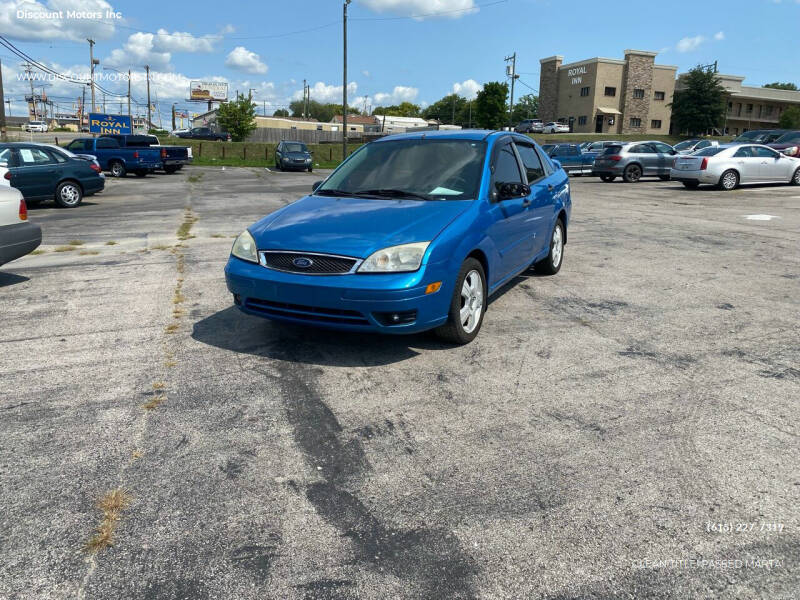 2007 Ford Focus for sale at Discount Motors Inc in Nashville TN