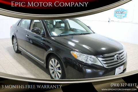 2011 Toyota Avalon for sale at Epic Motor Company in Chantilly VA