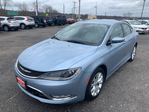 2015 Chrysler 200 for sale at Carmans Used Cars & Trucks in Jackson OH