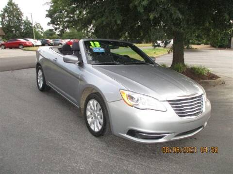 2013 Chrysler 200 Convertible for sale at Euro Asian Cars in Knoxville TN