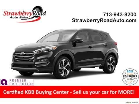 2016 Hyundai Tucson for sale at Strawberry Road Auto Sales in Pasadena TX