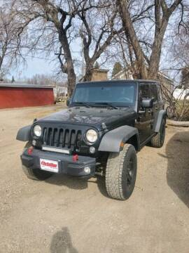 2014 Jeep Wrangler Unlimited for sale at Finley Motors in Finley ND
