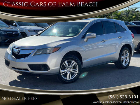 2014 Acura RDX for sale at Classic Cars of Palm Beach in Jupiter FL