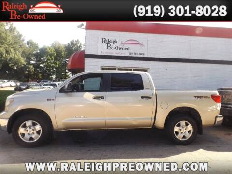 2010 Toyota Tundra for sale at Raleigh Pre-Owned in Raleigh NC