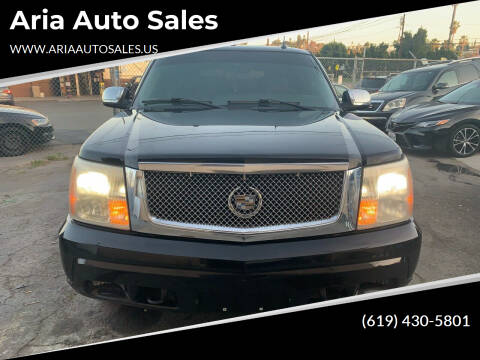2005 Cadillac Escalade for sale at Aria Auto Sales in El Cajon CA