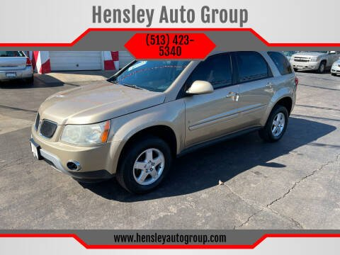 2006 Pontiac Torrent for sale at Hensley Auto Group in Middletown OH