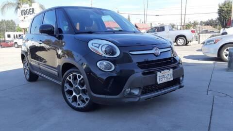 2014 FIAT 500L for sale at DOYONDA AUTO SALES in Pomona CA